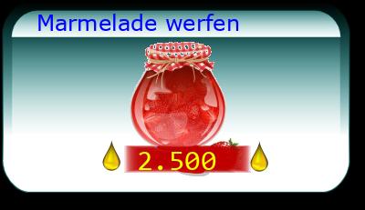 Marmelade werfen