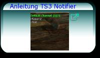 Anleitung TS3 Notifier
