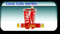 Coca Cola werfen