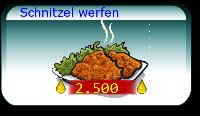 Schnitzel werfen