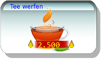 Tee werfen