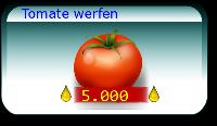 Tomate werfen