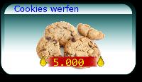 Cookies werfen