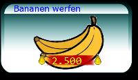 Bananen werfen