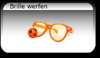 Brille werfen