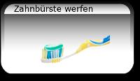 Zahnbürste werfen